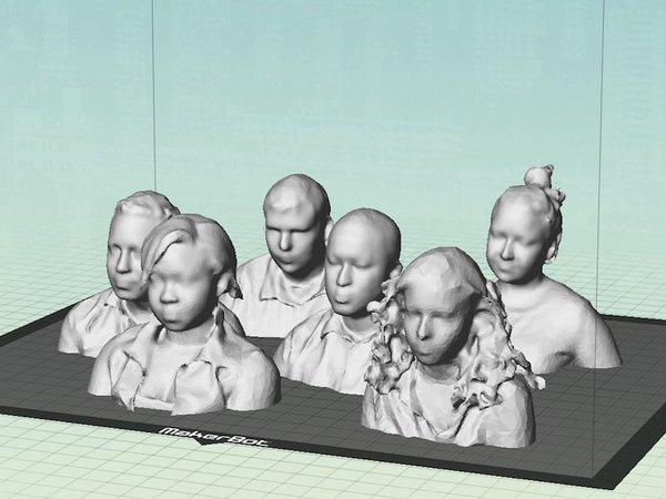 Les étudiants en 3D!