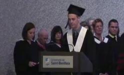 Philippe fait son discours